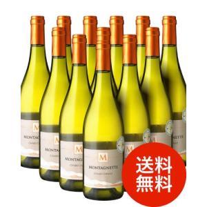 【送料無料】モンタネット シャルドネ[2015]12本セット(白ワイン)(同梱不可 送料無料)|takamura