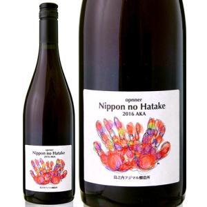 オプナー・ニッポン・ノ・ハタケ赤[2016]島之内フジマル醸造所(赤ワイン)|takamura