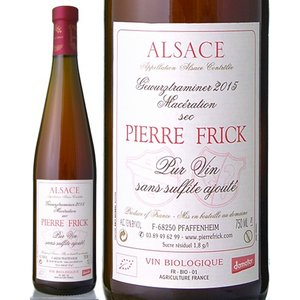 ゲヴュルツトラミネール・ル・マセラシオン・サン・シュルフィト・アジュテ[2015]ピエール・フリック(白ワイン)|takamura