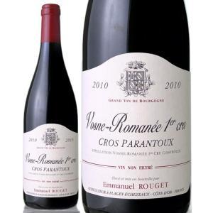 ヴォーヌ ロマネ プルミエ クリュ クロ パラントゥ [2010]エマニュエル ルジェ(赤ワイン)|takamura