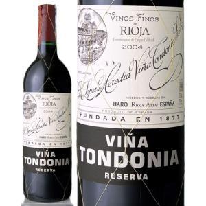 トンドニア・リオハ・リゼルヴァ[2004] ロペス・デ・エレディア・ヴィニャ・トンドニア(赤ワイン)|takamura