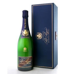【オリジナル箱入り】 キュベ・サー・ウィンストン・チャーチル[2004] ポル・ロジェ(泡・白) (ワイン(=750ml)10本と同梱可)|takamura