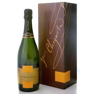 【オリジナル箱入り】 ヴーヴ・クリコ・カーヴ・プリヴェ[1990](泡・白) (ワイン(=750ml)4本と同梱可)|takamura