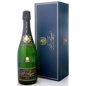 【オリジナル箱入り】 サー・ウィンストン・チャーチル[2006]ポル・ロジェ(泡・白) (ワイン(=750ml)10本と同梱可)|takamura