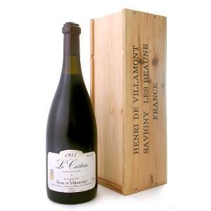 【オリジナル木箱入り】【マグナムボトル】 コルトン・グラン・クリュ[1985]アンリ・ド・ヴィラモン 1500ml(赤ワイン)|takamura