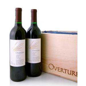 【オリジナル木箱入り】【6本セット】 オーバーチュアNVオーパス・ワン  6本木箱入り※同梱不可(赤ワイン)|takamura