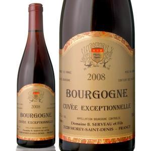 ブルゴーニュ・キュベ・エクセプショネル[2008] ベルナール・セルヴォー(赤ワイン)|takamura
