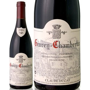 ジュヴレ・シャンベルタン[2002]クロード・デュガ (赤ワイン)|takamura