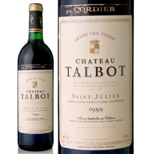 シャトー・タルボ[1989](赤ワイン)|takamura