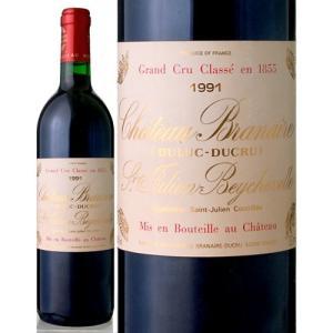 シャトー・ブラネール・デュクリュ[1991](赤ワイン)|takamura