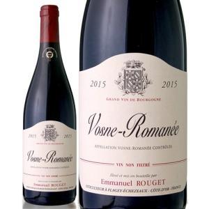 ヴォーヌ ロマネ[2015]エマニュエル ルジェ(赤ワイン)|takamura