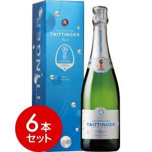 【6本セット】【正規品】 テタンジェ・ブリュット・レゼルヴNV FIFA2018  ワールドカップ・オフィシャルボトル6本セット(泡・白) takamura