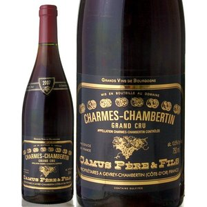シャルム・シャンベルタン・グラン・クリュ[2007]カミュ(赤ワイン)[S] takamura