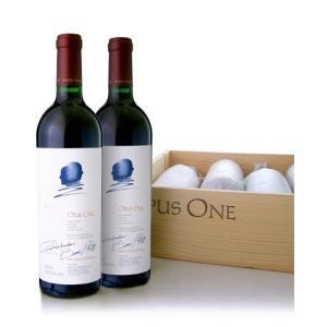 【オリジナル木箱入り】 オーパス・ワン[2014]6本セット※同梱不可(赤ワイン)|takamura