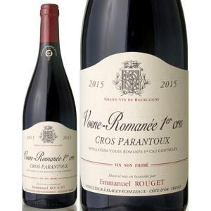 ヴォーヌ・ロマネ・プルミエ・クリュ・クロ・パラントゥ[2015]エマニュエル・ルジェ(赤ワイン)[S]|takamura