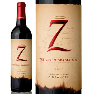 セブン デッドリー ジンズ オールド ヴァイン ジンファンデル [2015]マイケル デイヴィッド(赤ワイン)|takamura