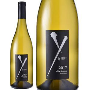 Y by Yoshikiシャルドネ カリフォルニア[2017](Yoshiki & ロブ モンダヴィJr. コラボ)(白ワイン)|takamura