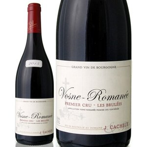 ヴォーヌ・ロマネ・プルミエ・クリュ・レ・ブリュレ[2015]ジャック・カシュー(赤ワイン)|takamura