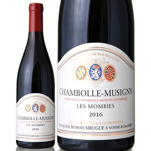 シャンボール ミュジニー レ モンビー[2016]ロベール シリュグ(赤ワイン)|takamura
