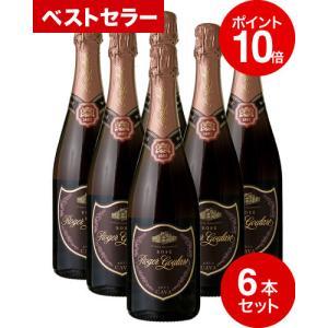 スパークリング ロゼ 6本セット ロジャー グラート カヴァ ロゼ ブリュット[2014](泡 ロゼ)箱なしワイン王国31 takamura
