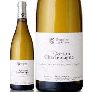 コルトン シャルルマーニュ グラン クリュ[2015]ドメーヌ デ クロワ(白ワイン)|takamura