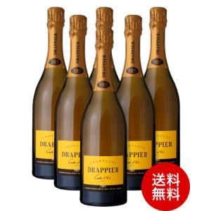 送料無料  ドラピエ カルト ドール ブリュットNV6本セット(泡 白)(ワイン(=750ml)6本同梱可) (代引き手数料 クール便は別途費用が掛かります)|takamura