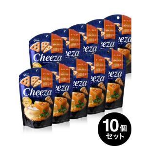 10個セット 生チーズのチーザ カマンベール仕立て/Cheeza(40g)(グリコ) 【賞味期限:2...