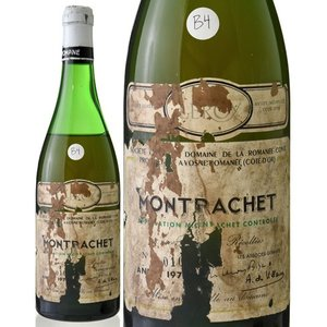 並行 モンラッシェ グラン クリュ[1973]ドメーヌ ド ラ ロマネ コンティ(白ワイン)B4 takamura