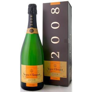 【オリジナル箱入り】ヴーヴ・クリコ・ヴィンテージ[2008](泡・白)(ワイン(=750ml)9本と同梱可)|takamura