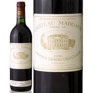 シャトー マルゴー[1986](赤ワイン) ※ラベル瓶&キャップに汚れ 破れ 傷有り※|takamura