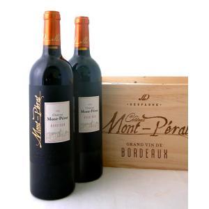 木箱入り シャトー モンペラ ルージュ[2015]6本セット(ワイン(=750ml)6本と同梱可)(赤ワイン)|takamura