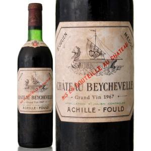 シャトー ベイシュヴェル[1967]※瓶汚れあり※(赤ワイン)|takamura