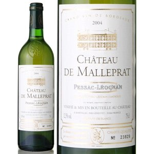 シャトー ド マルプラ[2004](白ワイン)|takamura