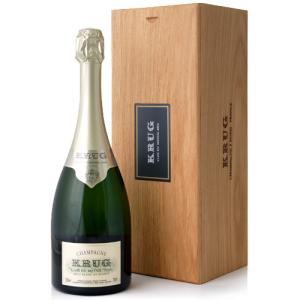 木箱入り クリュッグ クロ デュ メニル[2004](泡 白)(ワイン(=750ml)4本と同梱可)|takamura