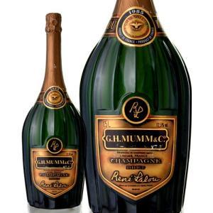マグナムボトル ブリュット キュベ ルネ ラルー[1985]マム 1500ml(ワイン(=750ml)9本と同梱可)(泡 白)※瓶汚れあり※|takamura