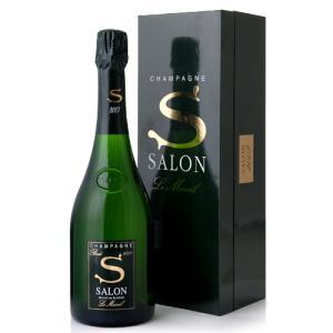 並行 箱入り サロン ブラン ド ブラン[2007](泡 白)(ワイン(=750ml)8本と同梱可)|takamura