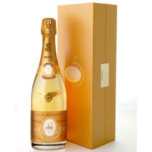 箱入り 並行 クリスタル [ 2005 ]ルイ ロデレール ( 泡 白 ) シャンパン シャンパーニュ(ワイン(=750ml)10本と同梱可) [J][S]|takamura