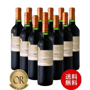 送料無料 『W金賞受賞』 モンタネット メルロー [ 2018 ] アルマ セルシウス12本セット ( 赤ワイン ) takamura