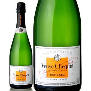 正規 ヴーヴ クリコ ホワイトラベル ドゥミセック ( 泡 白 )  シャンパン シャンパーニュ|takamura