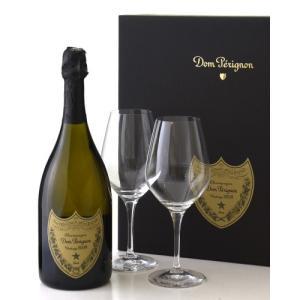 正規 箱入り ドン ペリニヨン[2009]グラスセット(泡 白)(ワイン(=750ml)8本と同梱可)|takamura