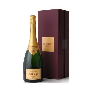 正規 箱入り クリュッグ グラン キュヴェ NV(ワイン(=750ml)8本と同梱可)|takamura