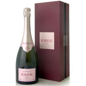 正規 箱入り クリュッグ ロゼ(泡 ロゼ)(ワイン(=750ml)4本と同梱可)|takamura