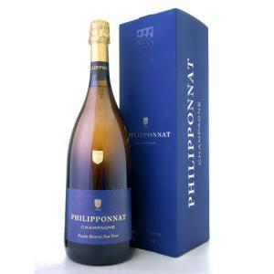 マグナムボトル 箱入り ロワイヤル レゼルヴ ノンドゼNVフィリポナ1500ml(泡 白)(ワイン(=750ml)4本と同梱可)|takamura