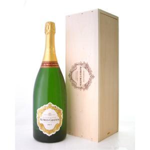 【オリジナル木箱入り】【マグナムボトル】 ブリュットNVアルフレッド・グラシアン1500ml(泡・白)|takamura
