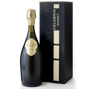 【オリジナル箱入り】ゴッセ・セレブリス・エクストラ・ブリュット[2002](泡・白)(ワイン(=750ml)10本と同梱可) takamura
