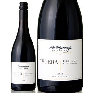 ピノ ノワール テ テラ[2015]マーティンボロー ヴィンヤード(赤ワイン)|takamura
