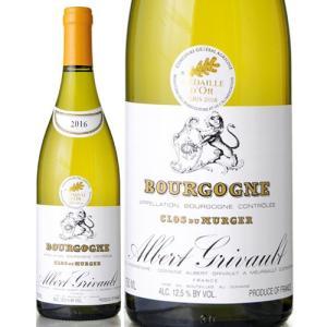 ブルゴーニュ ブラン クロ デュ ミュルジェ[2016]アルベールグリヴォ(白ワイン)|takamura