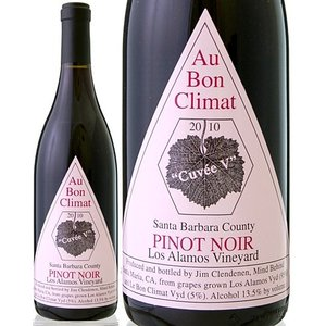 ピノ・ノワール・ロス・アラモス・キュベV[2010]オー・ボン・クリマ(赤ワイン)|takamura