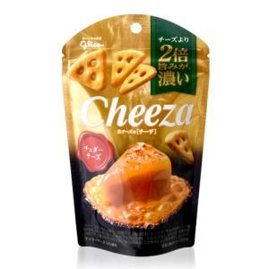 生チーズのチーザ チェダーチーズ/Cheeza(40g)(グリコ) 【賞味期限:2020年4月30日】 (1〜6個迄、ワイン(=750ml)11本と同梱可)|takamura