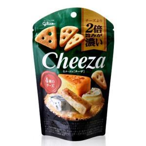 生チーズのチーザ 4種のチーズ/Cheeza(40g)(グリコ)【賞味期限:2020年4月30日】(1〜6個迄、ワイン(=750ml)11本と同梱可)|takamura